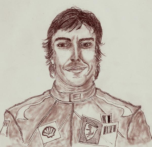 Fernando Alonso by chano